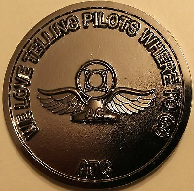 Air Traffic Control Tower Air Force Challenge Coin ATC