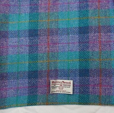 various Sizes code.nov34 Harris Tweed Fabric /& labels 100/% wool Craft Material