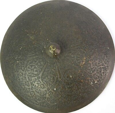 Great Old Islamic Mughal C 1750 Collectible Copper Pot Rich Patina. G3-29 US 4