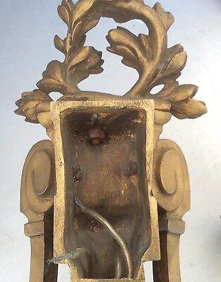 Antique Gilded Bronze Wall Lights 6
