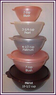 Tupperware ONE (1) 6-CUP WONDERLIER BOWL SALSA VERDE / KIWI LIME GREEN NEW 6