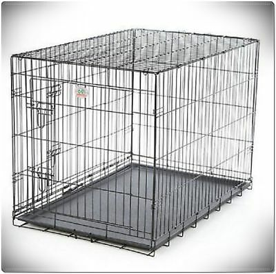 XXL Large Dog Crate Kennel Extra Huge Folding Pet Wire Cage Giant Breed Size 7