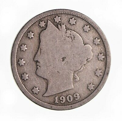 One Circulated  Liberty Head V Nickel    Assorted Dates  1883 to 1912   #LHNA 2