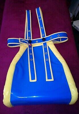 Spreizhose Segufix Adult Baby Windelhose Spread Pants LACK PVC HANDARBEIT 40x100 10