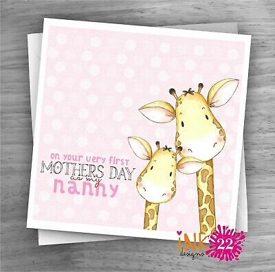 Mother/'s Day Card from Baby Bump Mum to be Mummy Nanny Grandma gift first 1st