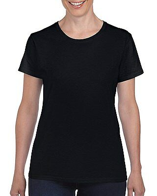Plain 100% Cotton Blank T-shirt Gildan Mens Womens Various Colour sizes S - 2XL 11