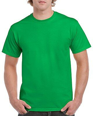 Plain 100% Cotton Blank T-shirt Gildan Mens Womens Various Colour sizes S - 2XL 9