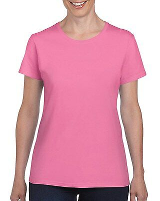 Plain 100% Cotton Blank T-shirt Gildan Mens Womens Various Colour sizes S - 2XL 10