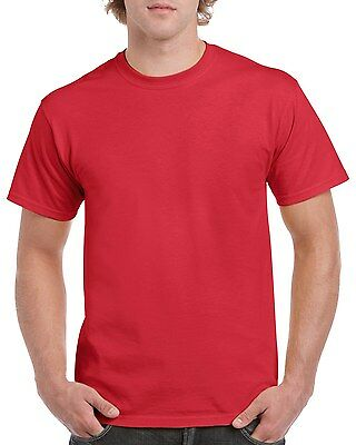 Plain 100% Cotton Blank T-shirt Gildan Mens Womens Various Colour sizes S - 2XL 3