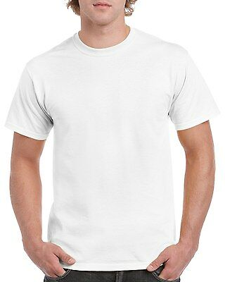 Plain 100% Cotton Blank T-shirt Gildan Mens Womens Various Colour sizes S - 2XL 2