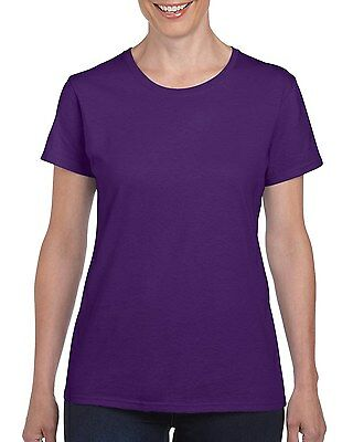 Plain 100% Cotton Blank T-shirt Gildan Mens Womens Various Colour sizes S - 2XL 12