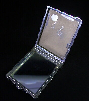 800er Silber Edles Visitenkartenetui Schminketui Mi