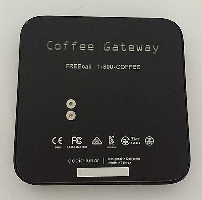 SUPER BARGAIN NEW Acaia Lunar Coffee Scale Coffee Gateway + BONUS AMANTI Coffee