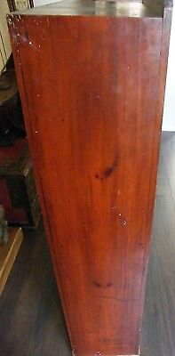 ANTIQUE CHEIMIST SHOP DISPLAY CABINET LIBRARY BOOKCASE COLLECTORS CABINT c1890 4
