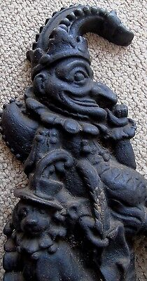Antique Mr Punch Door Stop Judy Late 19Th Century 8