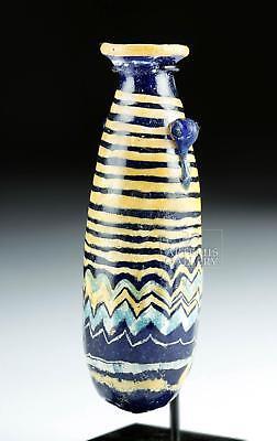 Superb Greek Core Form Glass Alabastron Lot 21