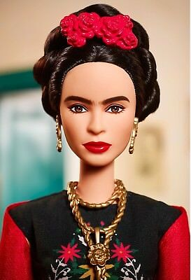 ❤ Frida Kahlo Mattel Barbie Doll Inspiring Women Series Mexican Artist IN STOCK❤ 6