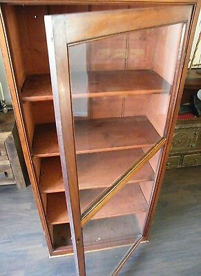 ANTIQUE CHEIMIST SHOP DISPLAY CABINET LIBRARY BOOKCASE COLLECTORS CABINT c1890 7