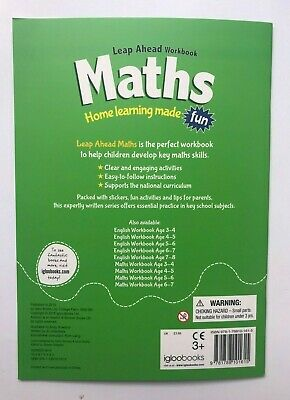 KS1 English & Maths Leapahead Home Learning Workbooks For Kids Age 7-8 years New 4