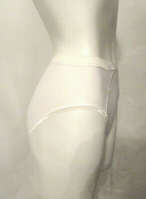 VTG BALI 2087 Pima Cotton/Lycra Spandex Panties sz 5 High Leg High Waist Briefs 8