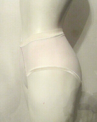VTG BALI 2087 Pima Cotton/Lycra Spandex Panties sz 5 High Leg High Waist Briefs 2