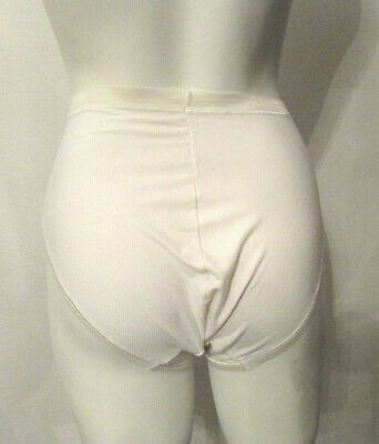 VTG BALI 2087 Pima Cotton/Lycra Spandex Panties sz 5 High Leg High Waist Briefs 3