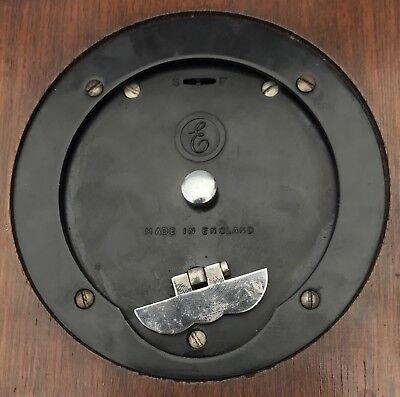 ELLIOTT LONDON Walnut & Burr Walnut Bracket Mantel Clock RUSSELLS LTD 9