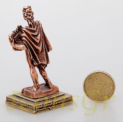 Ancient Greek Miniature Olympian God Pantheon Sculpture Statue Zamac Apollo C 3