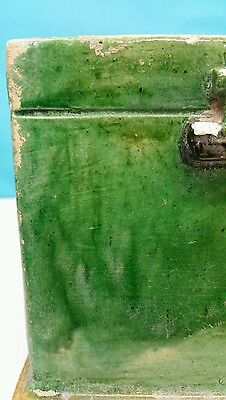 Antique Han Dynasty Style Ceramic Enamel Green Box 7