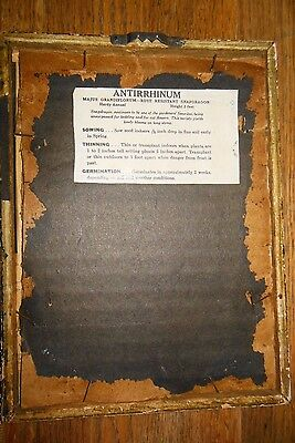 1941 NC SEED PACKAGE Framed Wall Decor AD Farmer Supply 4