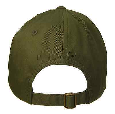 ... Olive Green Vintage Distressed Retro Low Profile Polo Baseball Cap Caps  Dad Hat 3 55c42ba09af