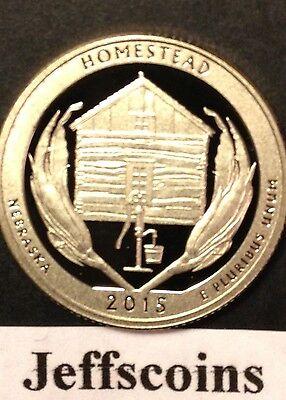 2015 S Dime Nickel Quarter Homestead National Park Clad Proof 5¢10¢ 25¢ p 2018 9
