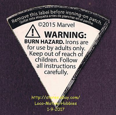 LMH PATCH Badge  2015 BLACK WIDOW SKYCYCLE Marvel Avengers  LOWES Build Grow