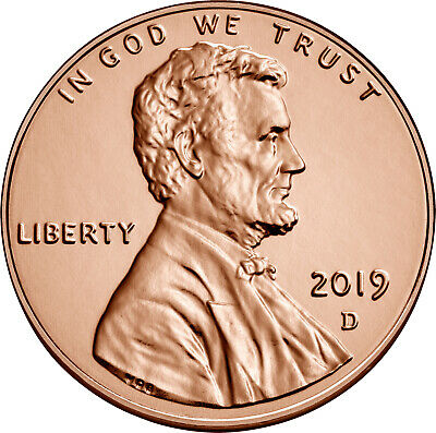 2019 P/D/S Lincoln Cent 3pc Update Set -- Uncirculated & Proof 2