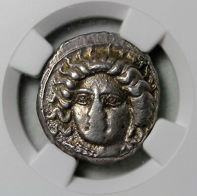 Satrap Of Cilicia Tarsus Pharabazus 380-373 BC Silver Stater NGC XF Ancient Coin 2