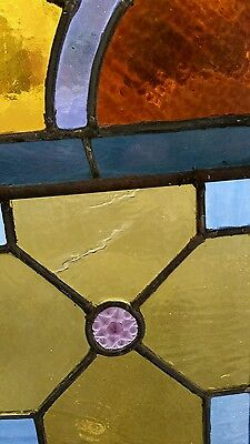 Antique Stained Glass  Window Victorian Era 6