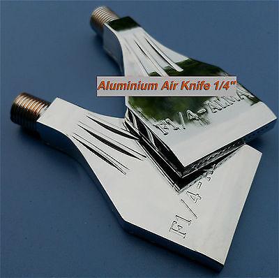 2pcs Aluminium Air Blower Air Nozzle Air Knife 1/4''