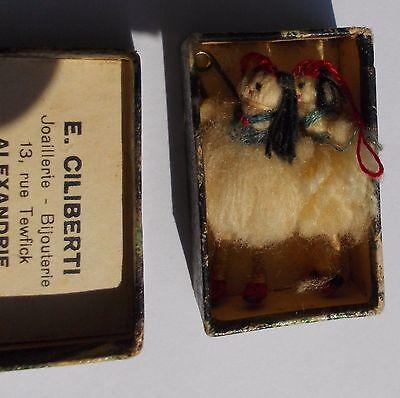 Vintage 19 century matchbox Greek tsoliades from Alexandria 6