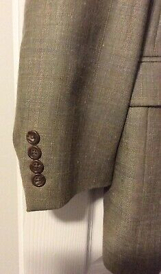 ***EUC*** Ralph Lauren Men's Silk Wool Linen Tan Brown Jacket Blazer • Size 44L 3