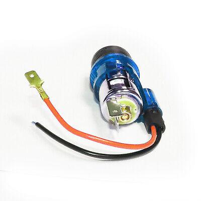 Kit Accendisigari illuminato Blu con presa 12V universale per auto van