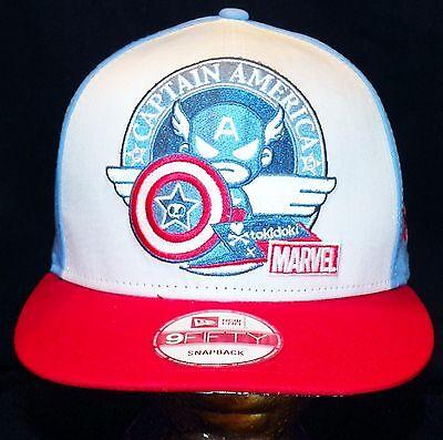 purchase cheap e9fd0 b182f ... Tokidoki Marvel Comics Captain America New Era 9FIFTY Disney Store  Baseball Hat 4