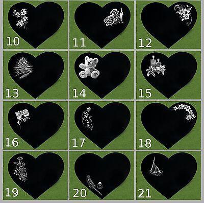 grabstein grabplatte herz gravur granit mit granitsockel 34 5x29 cm grabschmuck eur 99 99. Black Bedroom Furniture Sets. Home Design Ideas