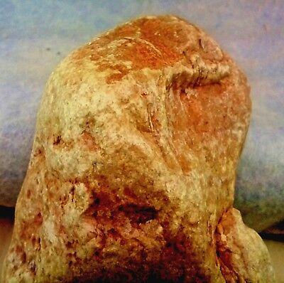 Paleolithic Stone Age, Figurine of a rare pagan faith,826gr'-29oz,Jordan-Valley