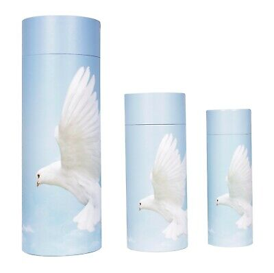 Scatter Tubes urn for ashes Large Small Adult Child Pet Eco Biodegradable 2