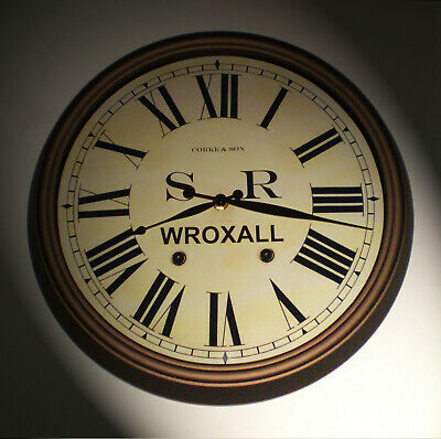 Southern Railway SR Historic Style Station Clock, Wroxall Station 2