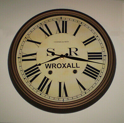 Southern Railway SR Historic Style Station Clock, Wroxall Station 3