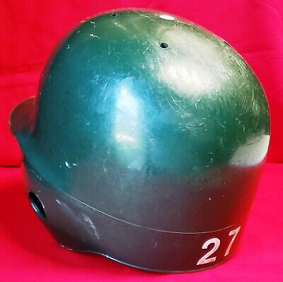BUFFALO BISONS (Cleveland Indians) 1980's-1990's Game Used Batting Helmet by ABC 4