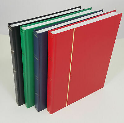 A4 Stock Book Stamp Album with a Choice of White or Black pages - From  £4.95 4