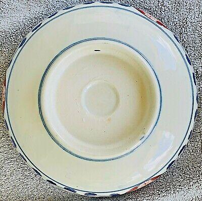 Vintage Japanese Gilt Imari Style Porcelain  Decorative Bowl, Maker Unknown 11