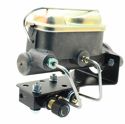 "1957-77 Ford F-100 Truck 7/"" Single Power Booster Brake Conversion Kit /& Valve"